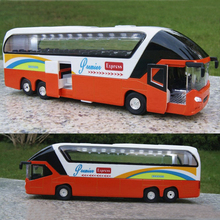 1:32 Scale Bus Models Toy New York Double Decker Sightseeing Tour Bus 1/32 Diecast Car Model Collectible Model