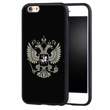 Russian Flag coat arms Luxury Logo case Cover For Samsung S8 S8plus S4 S5 S6 S7 edge Note 2 Note 3 Note 4 Note 5