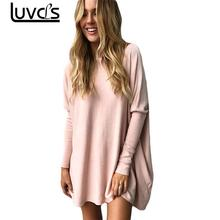 LUVCLS 2017 Autumn Fashion Korean Style Casual Thick Basic Loose Shirt Leisure Long Coat Women Tight Sleeve Sweater Clothes