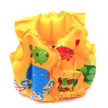 New 2014 Brand New Inflatable Swimming Vest Training Swim Trainer Vest for kids