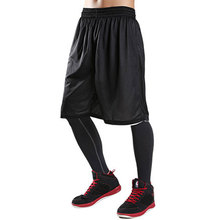 Double Wear Cheap Stars Mens Black Basketball Shorts Quick Dry Breathable Training Basket-ball Jersey Sport Running Shorts(China)