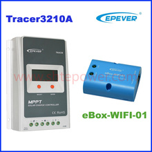 Tracer3210A 2210A MPPT solar charge controller 30A 12V/24 Auto connect solar regulator EPEVER MPPT Solar Controller with WIFI(China)