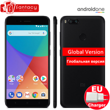 "Global Version Xiaomi Mi A1 4GB 32GB Snapdragon 625 Octa Core Metal Body Fingerprint ID FDD 5.5"" Android One Dual 12MP CE FCC EU(China)"