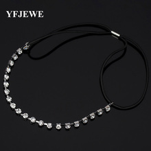 Fashion Luxury Pearl Rhinestone Beads Hairbands Lace Crown Crystal Bridal Hair Piece Accessories Jewelry Tiara Wedding H034(China)