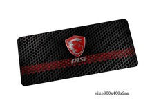 msi mouse pad locked edge pad to mouse notbook computer mousepad High-end gaming padmouse gamer to large keyboard mouse mats(China)