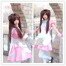 Axis Powers Hetalia APH UK England Britain Rosa Kirkland Cosplay Costume Lolita Maid Costumes for women