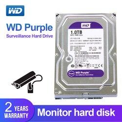 WD фиолетовый 1 ТБ 3,5