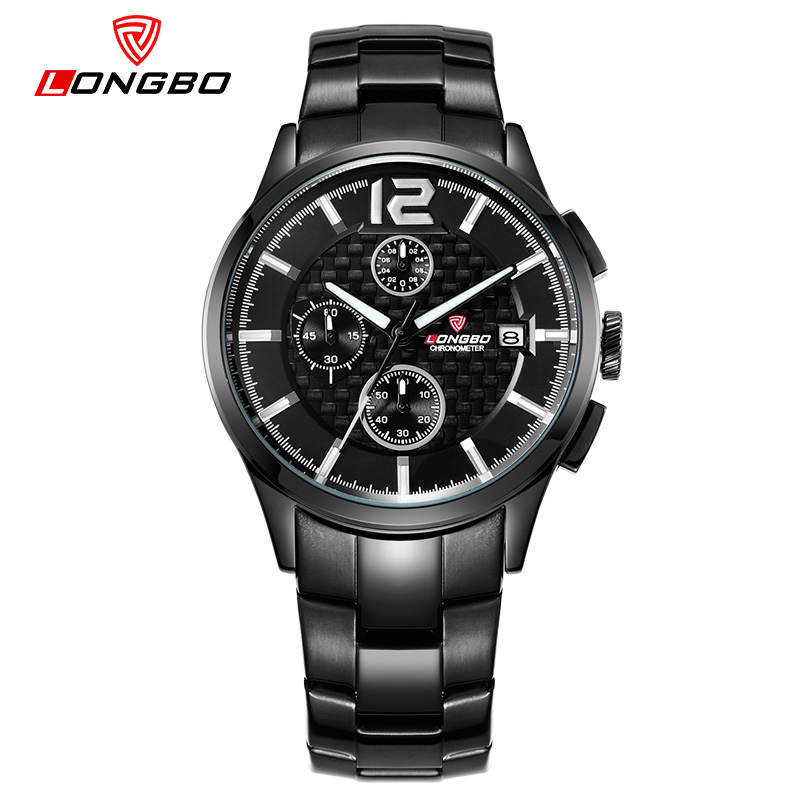 LONGBO Brand 2017 New Fashion Luxury Men Military Wristwatch High Quality Mens Outdoor Sports Watch Quartz Relogio Masculino<br><br>Aliexpress