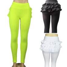 Femmes Sport Leggings De Yoga Pantalon Noir Taille Haute Élastique Course  de Remise En Forme Mince Sport Pantalon Gym Leggings P.. f9eb2f408eb