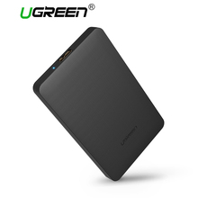 Ugreen HDD Enclosure 2.5 inch SATA to USB 3.0 SSD Adapter Hard Disk Drive Box for Samsung Seagate SSD 1TB 2TB External HDD Case(China)