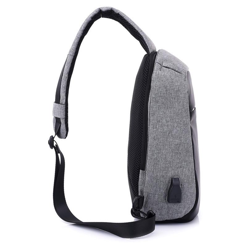 Men Anti Theft Backpack USB Rechargeable Crossbody Women Bags Boys Girls Single Shoulder Bag Backpacks Sac A Dos Homme BP0205 (29)