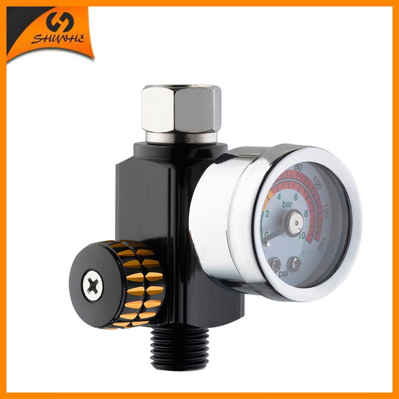 SAT0343 Pneumatic Tools Gauge Air Pressure Regulator Adjustable Regulating Gauge<br><br>Aliexpress