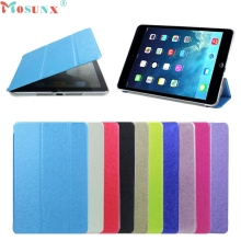 Mosunx SimpleStone Ultra Slim Tri Fold Stand Leather Case Cover For iPad Mini 1 2 3 Retina May29(China)