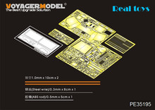 Voyager model 1/35 PE35195 WWII US Jeep Willys MB w/Add Amour (For TAMIYA 35219)