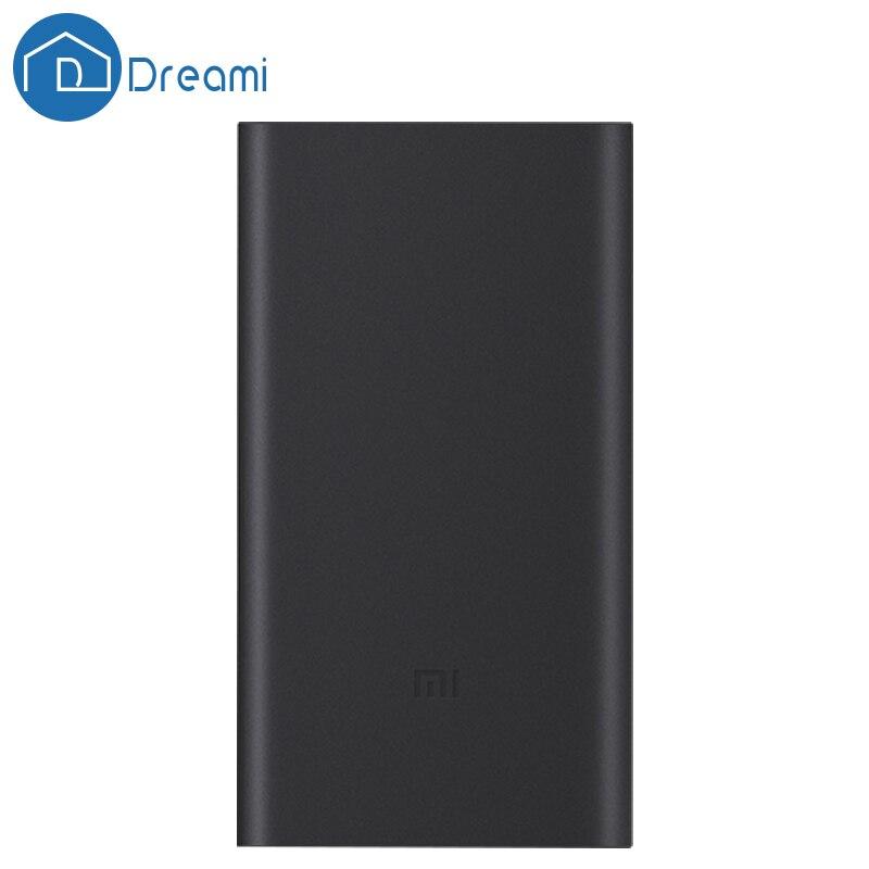 Dreami Оригинальный Xiaomi power bank 2 10000 мАч портативный внешний аккумулятор USB Быстрой аккумулятор для телефона(China)