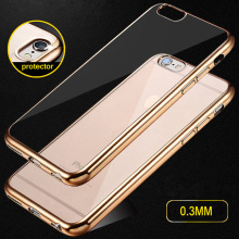 Buy Gold Plating TPU Cover Cases iPhone 6 Case luxury Brand Silicone 5 5s 6 Plus Coque iphone 7 Case Glitter fundas Cover for $1.29 in AliExpress store