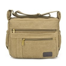 Hot Classic MAN's Shoulder Bag,Men's Vintage Canvas School Military Travel Handbags Messenger Bag Bolsas sac a main High Quality