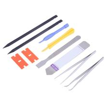 Buy 10Pcs Durable Metal Opening Tool Disassembly Tool Kit Anti Static Pry Repair Maintenance Tool Set smart phone table pc tools for $2.96 in AliExpress store