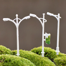 Miniature Street Lamp Plastic Craft Micro Landscaping Home Garden Decoration DIY Accessories Miniature