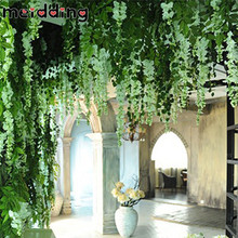MEIDDING 1pcs 90cm Artificial Ivy Leaf Artificial Plants Green Garland Plants Vine Fake Foliage Home And Garden Decor Supplies