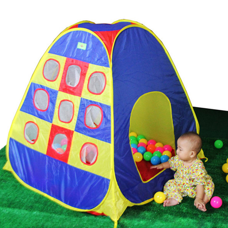 Child Baby Gift promotion price quality 9 shoot holes cute child tent game house play tent  sc 1 st  AliExpress.com & Online Get Cheap House Play Tents -Aliexpress.com | Alibaba Group