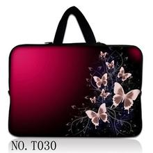 Butterfly Purple 17'' Laptop Ultrabook Sleeve Case Bag For MacBook Pro Air Acer Dell Sony HP PC