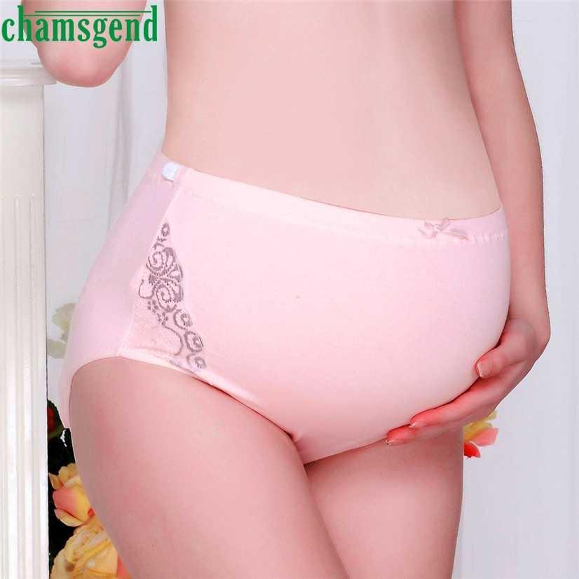 10de93813d7 CHAMSGEND Best seller drop ship Women Fashion Ladies Pure Color Pregnancy  Maternity Pregnant Women Underwear Panties