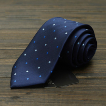 High Quality 2018 New Grey Striped Ties for Men 7cm Designer Fashion Brand Necktie Profession Interview Suit Mens Formal Tie(China)