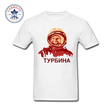 Buy 2017 Tops Unisex USSR CCCP Soviet cosmonaut Yuri Gagarin Cotton T Shirt men for $6.75 in AliExpress store