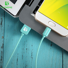 FLOVEME Micro USB Charger Cable Samsung HTC Huawei TPE Mobile Phone Cables Android Fast Charging Adapter Data USB Cable