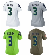 Women's Russell WilsonDoug Baldwin Bobby Wagner Kam Chancellor 12 Fan Jimmy Graham Jersey(China)