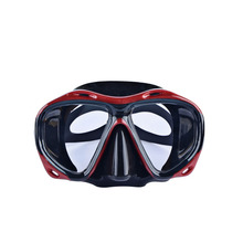 Tempered glass glasses swimming diving mask snorkeling equipment means a full set of equipment water supplies Gear