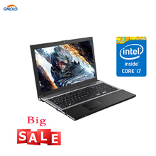 15.6 polegada I7 gaming laptop 8 gb 240 gb SSD 1 tb HDD 1920*1080 tela HD DVD ROM /RW WIFI camera Windows 10 notebook computador(China)