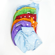 1pcs Reusable Baby Infant NappiesCloth Diapers Soft Cover Washable nappy changing Free Size Adjustable Fraldas for Winter Summer