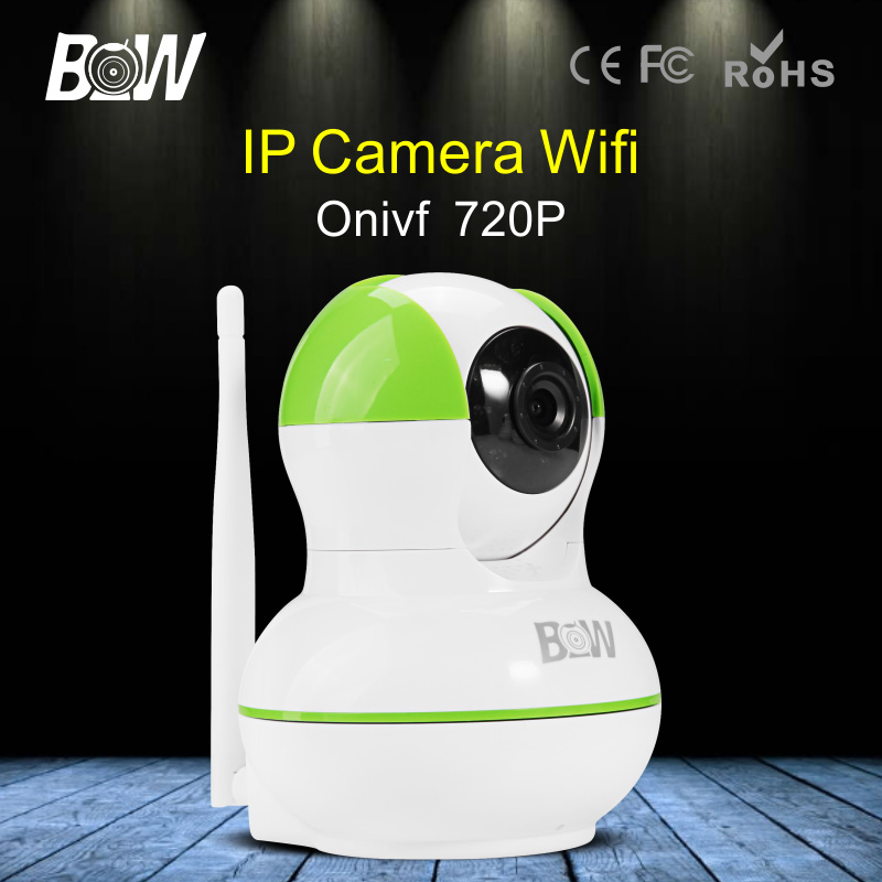HD Wireless IP Camera Wi-Fi 720P IR-Cut Night Vision Surveillance Security Camera WiFi Baby Monitor Motion Detect Alarm<br>