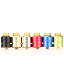 Mad Dog Rda Clone 510 Electronic Cigarette Atomizer 24mm Wild Dog Mad Dog Rda Dripka with PEI Drip Tip Wide Bore