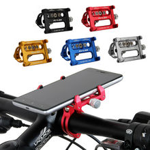 5 Colors Universal Bike Phone Stand Aluminum Bicycle Handlebar Mount Holder For iPhone Samsung Nokia Cycling Accessories