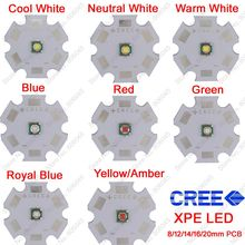 10x 3W Cree XPE XP-E High Power LED Emitter Diode,Optional Neutral White Cool White Warm White Red Green Blue Royal Blue Yellow(China)