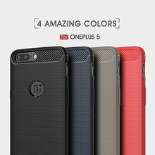 Luxury Hybrid TPU Silicon Case For Oneplus 5 Case Shockproof Cover For One Plus Five 1+ 5 Armor phone case For Oneplus 3 3T(China)