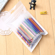 100 Pcs/pack New Colors Gel Ink Pen refills graffiti school office supplies Cartoon painting sketch color gel pen ink(China)