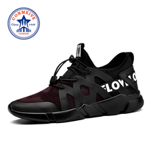 Buy New Style Light Running Shoes Men Low Elastic Fabric Sneakers Breathable Sport Outdoor Athletic Lifestyle Runing Shoe for $25.94 in AliExpress store