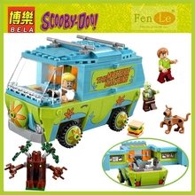 Bela 430 Scooby Doo Mystery Machine Bus  Building Block Toys Compatible With legoe P029 toys for children