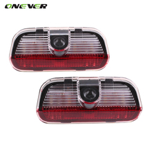 Onever LED Door Warning Light VW Logo Projector For VW Passat B6 B7 CC Golf 6 7 Jetta MK5 MK6 Tiguan Scirocco With Harness