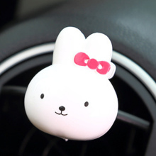 New Car-styling Miffy Cute Rabbit Cartoon Toys Fragrance Solid Perfumes Original Air Conditioning Outlet Vent Car Air Fresheners(China)