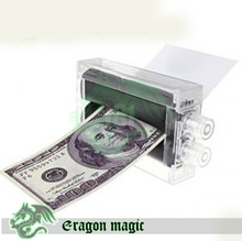 Money Printing Machine Children Magic Tricks Free Shipping Magia Trick Toy Close up Easy Fun Magie