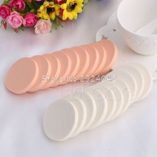10Pcs Soft Round Sponge Flawless Smooth Face Makeup Foundation Powder Beauty  HTY07