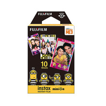10 Sheets Despicable 3 Minions Fuji Instax Film Fujifilm Instax Mini 8 Film For 9 8 50s 7s 90 25 Share SP-1 SP-2 Instant Cameras(China)