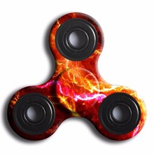 Fidget Tri-Spinner Toys fidget spinner metal toy stress wheel any-steering stres spiner toys beyblade #XTYW