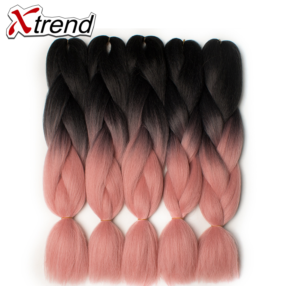 Online Get Cheap Pink And Purple Hair Extension For Braids