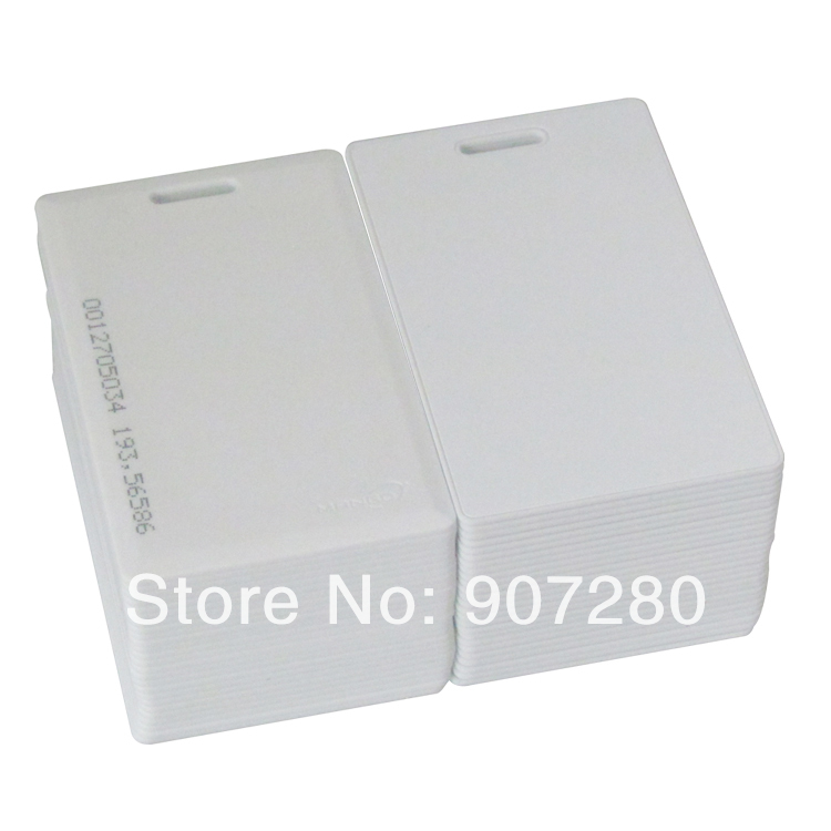 Wholesale Proximity 125KHZ EM Thick Card for Access Ccontrol System<br><br>Aliexpress